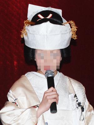 中国でハナヨメ衣装