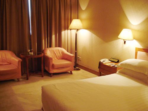 2007ホテル到着
